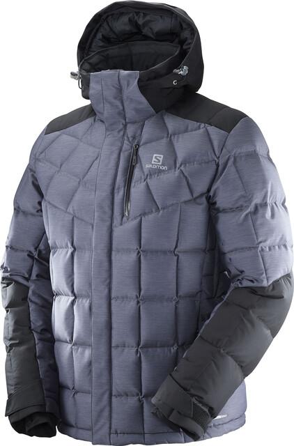 Salomon Icetown Jacket Herren dark grey heather